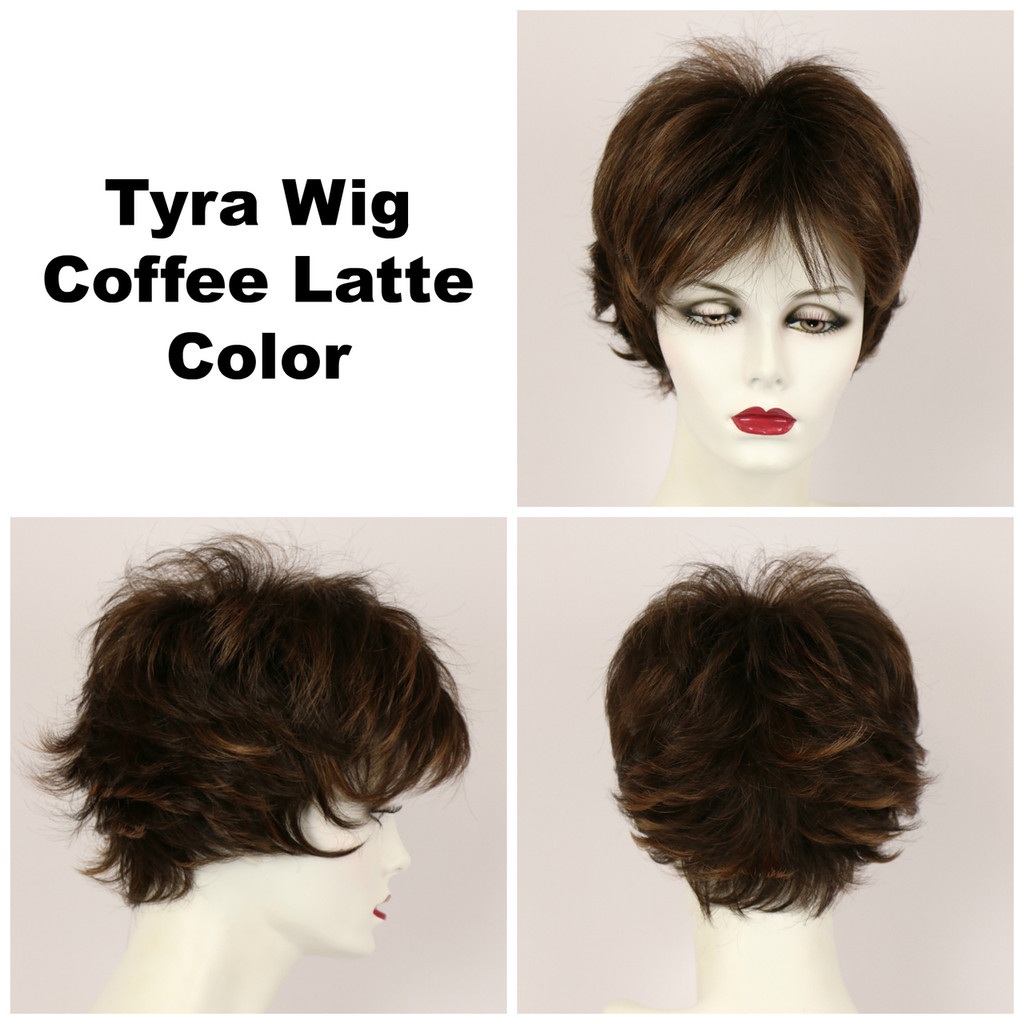 Coffee Latte / Tyra / Short Wig