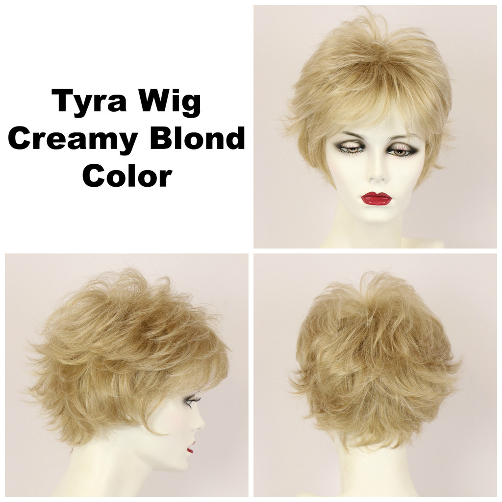 Creamy Blond / Tyra / Short Wig