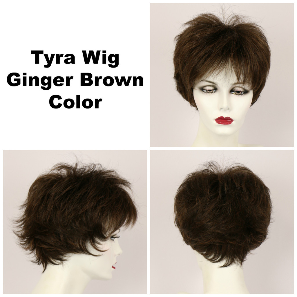 Ginger Brown / Tyra / Short Wig