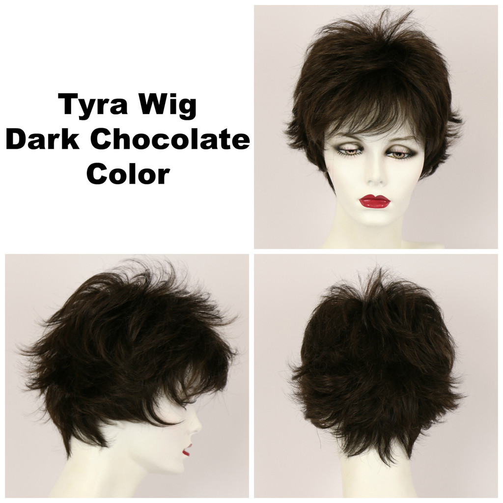 Dark Chocolate / Tyra / Short Wig
