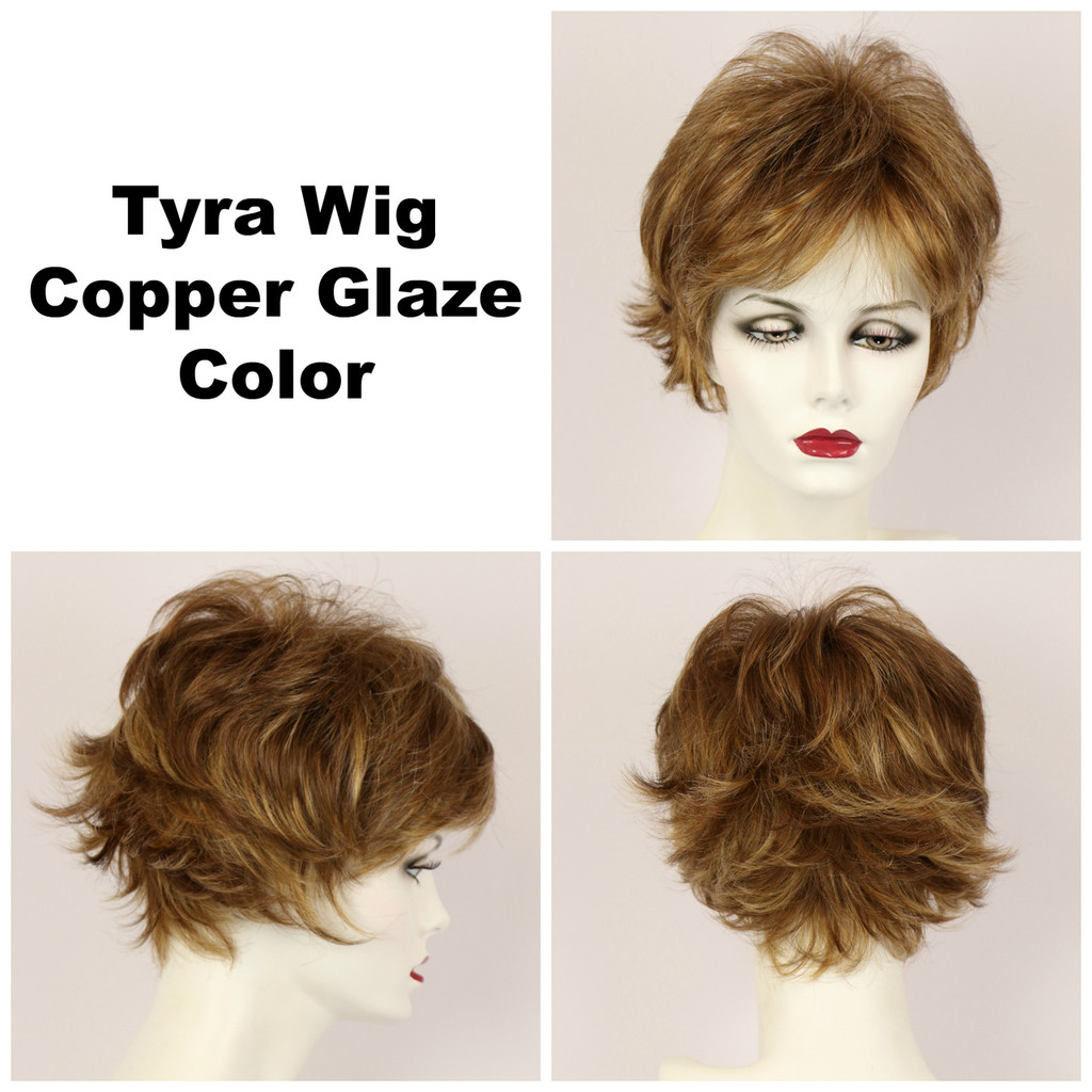 Copper Glaze / Tyra / Short Wig