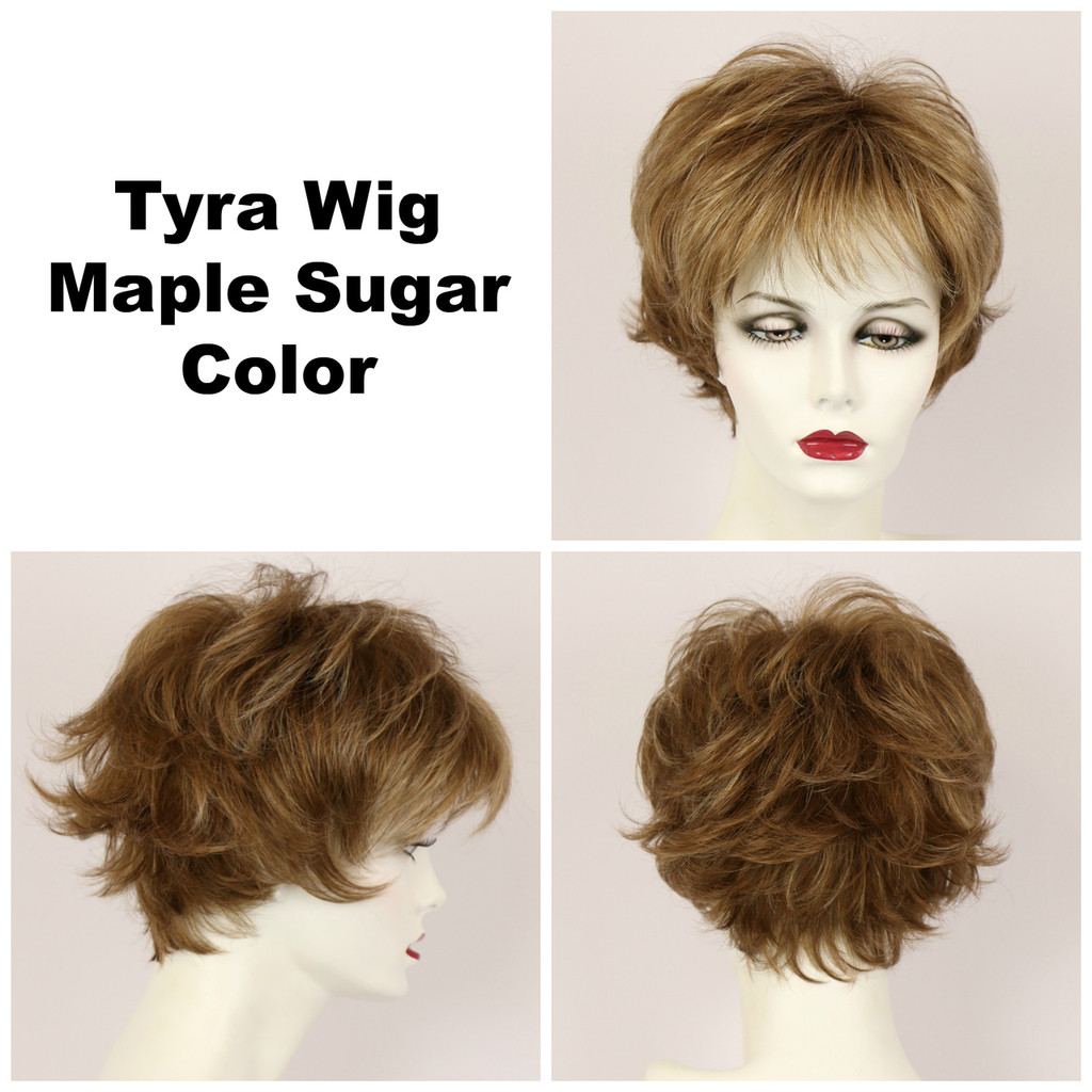 Maple Sugar / Tyra / Short Wig