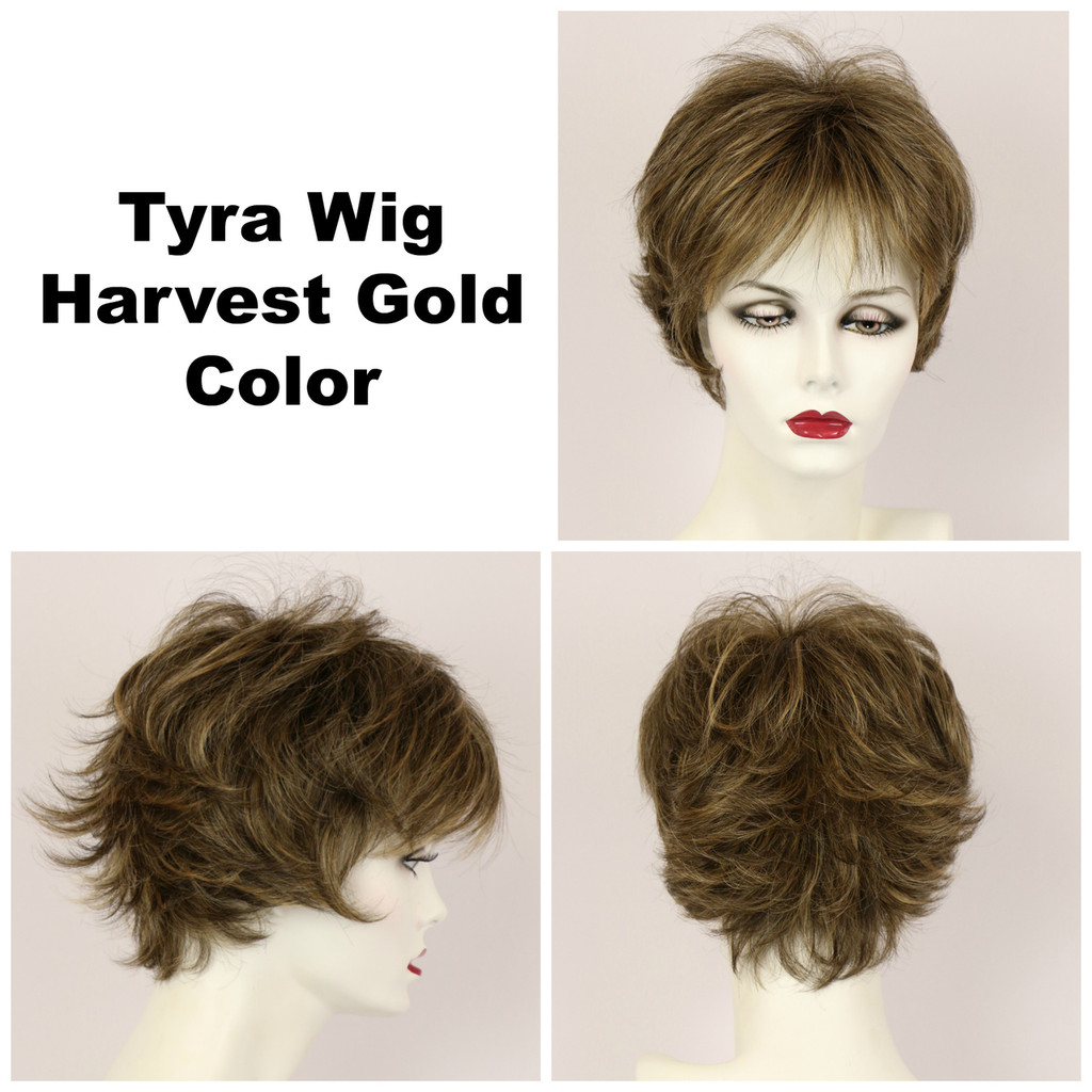 Harvest Gold / Tyra / Short Wig