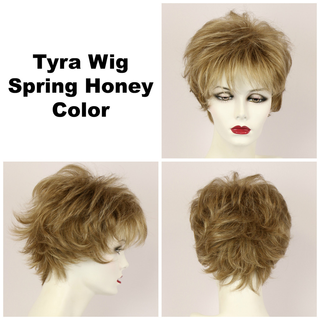 Spring Honey / Tyra / Short Wig
