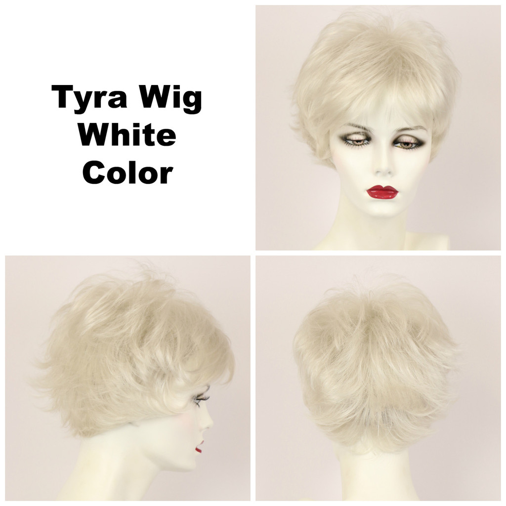 White / Tyra / Short Wig