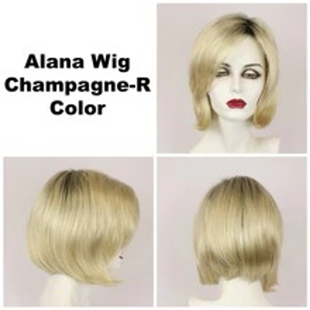 Champagne-R / Alana w/ Roots / Medium Roots