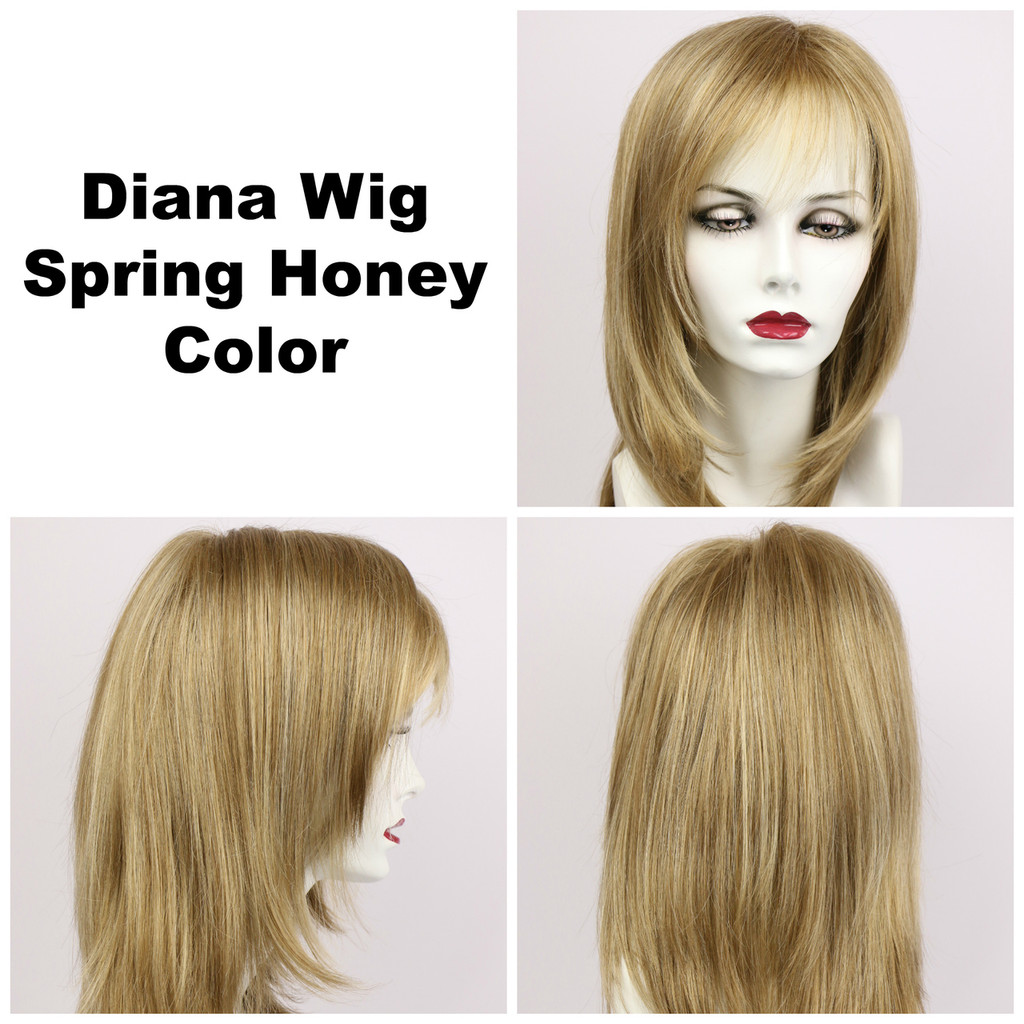 Spring Honey / Diana Lace Front / Long Wig