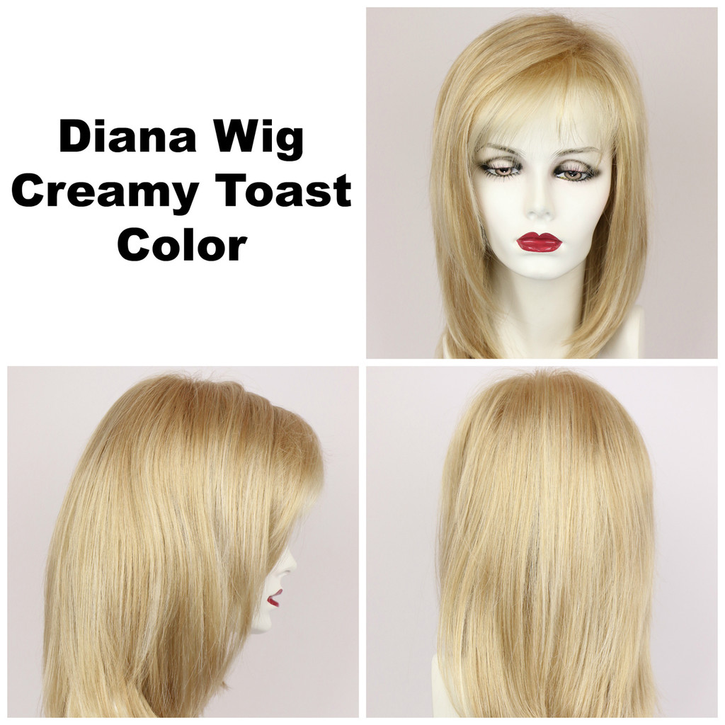 Creamy Toast / Diana Lace Front / Long Wig