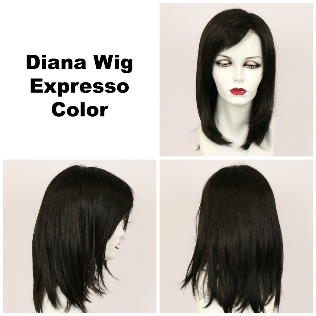 Expresso / Diana Lace Front / Long Wig