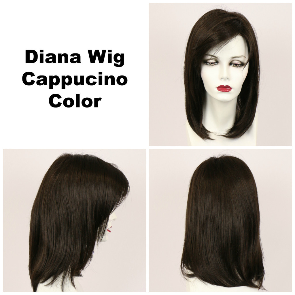 Cappucino / Diana Lace Front / Long Wig