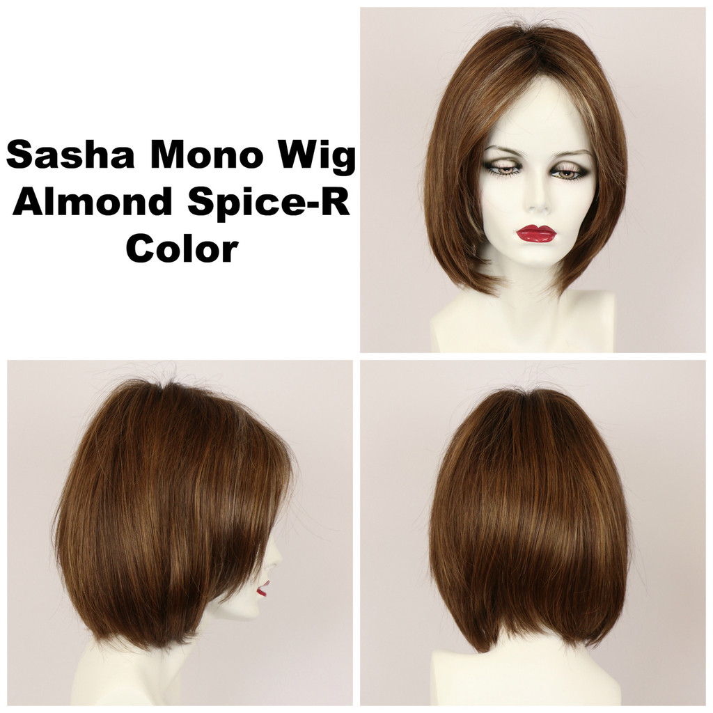 Sasha Mono w/Roots (medium wig)