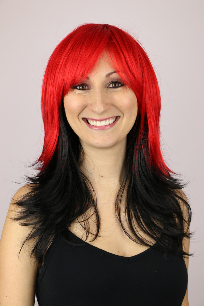 Red Nite / Storm / Costume Wig