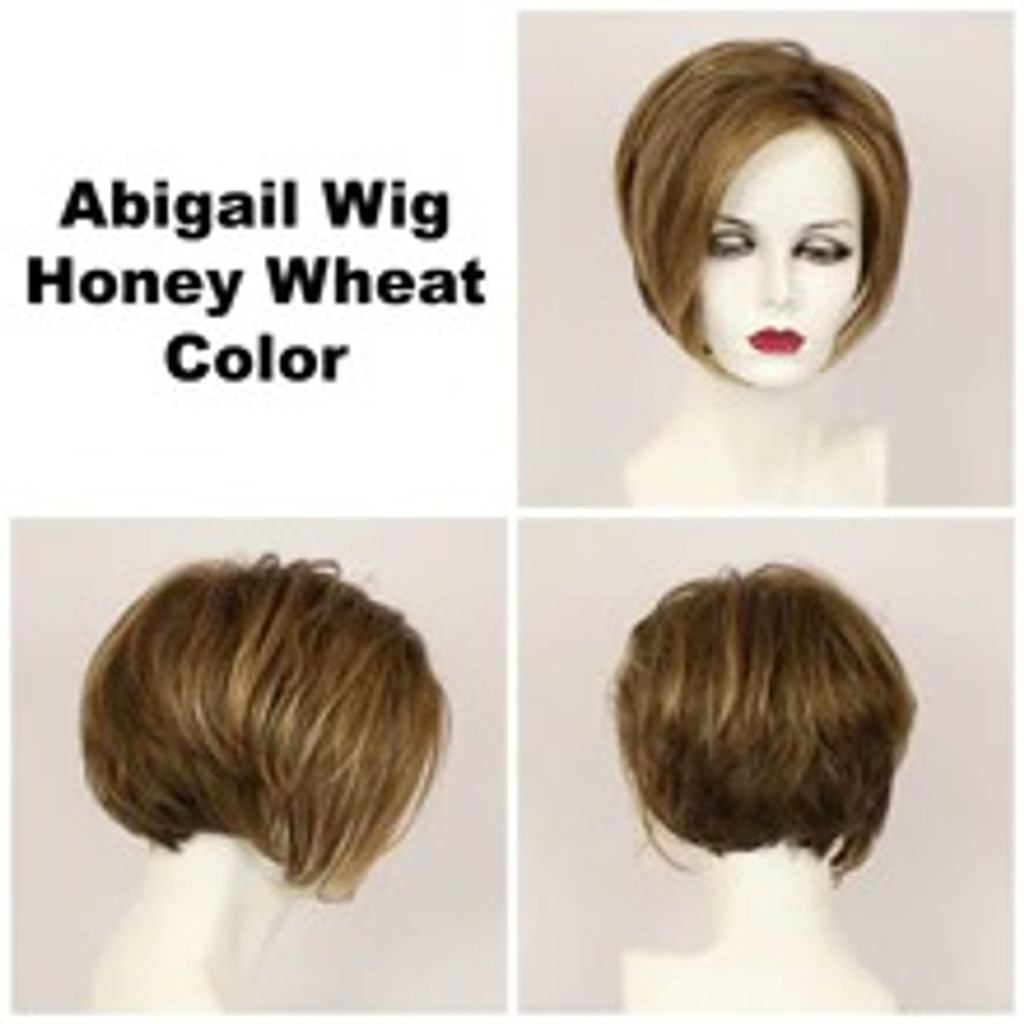 Honey Wheat / Abigail Lace Front / Medium Wig
