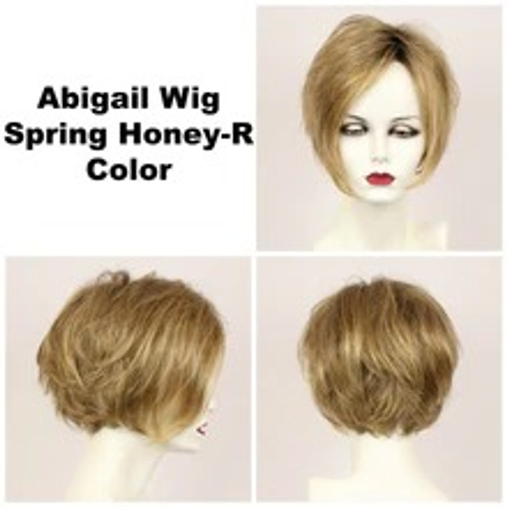 Abigail LF w/Roots (medium wig)