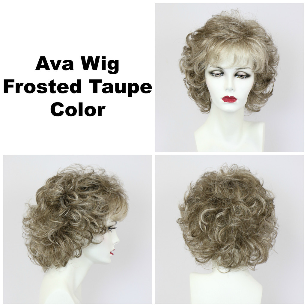 Frosted Taupe / Ava / Medium Wig