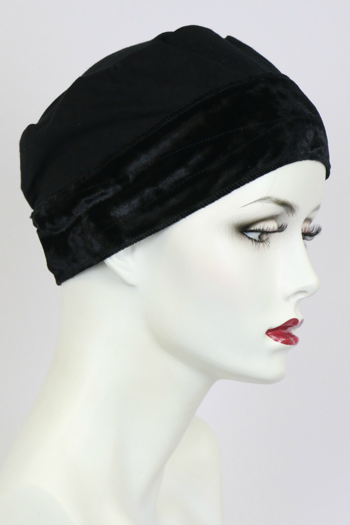Black / Wig Grip Cap