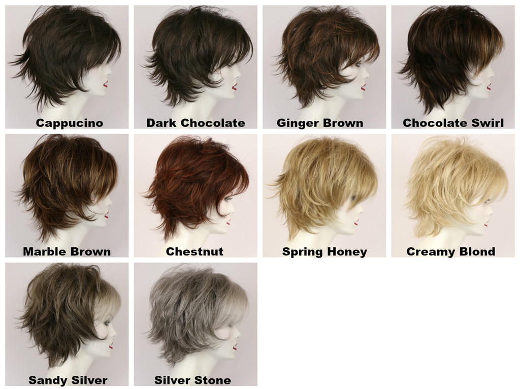 Color Chart / Large Freedom / Medium Wig