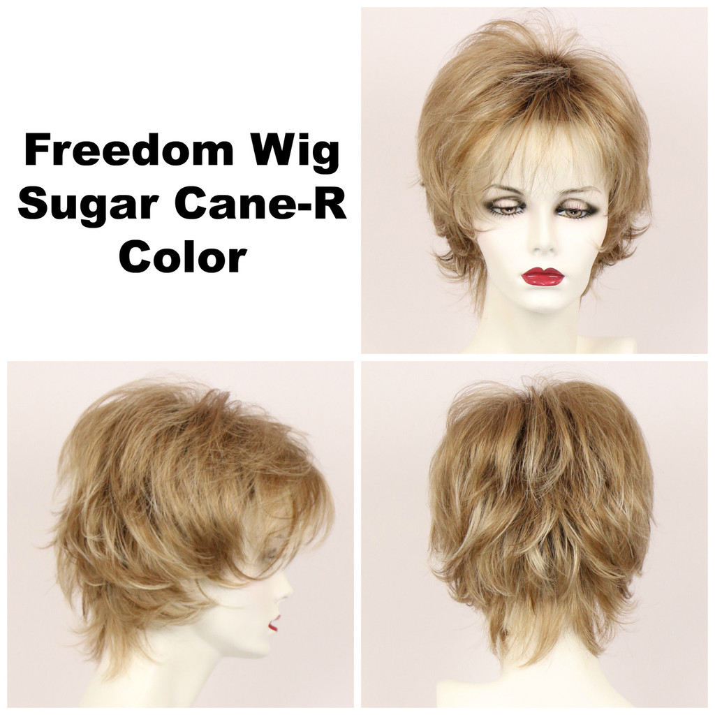 Sugar Cane-R / Large Freedom w/ Roots / Medium Wig