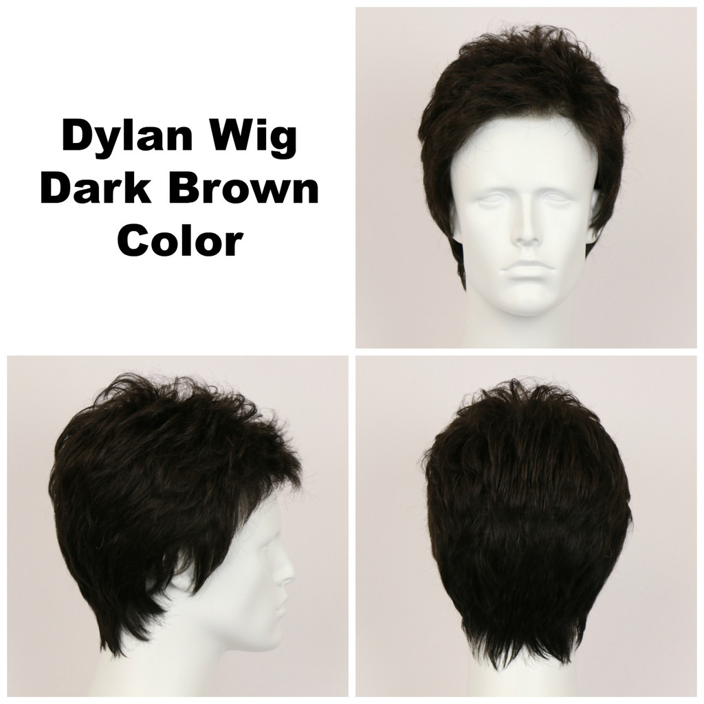 Dark Brown / Dylan / Men's Wig