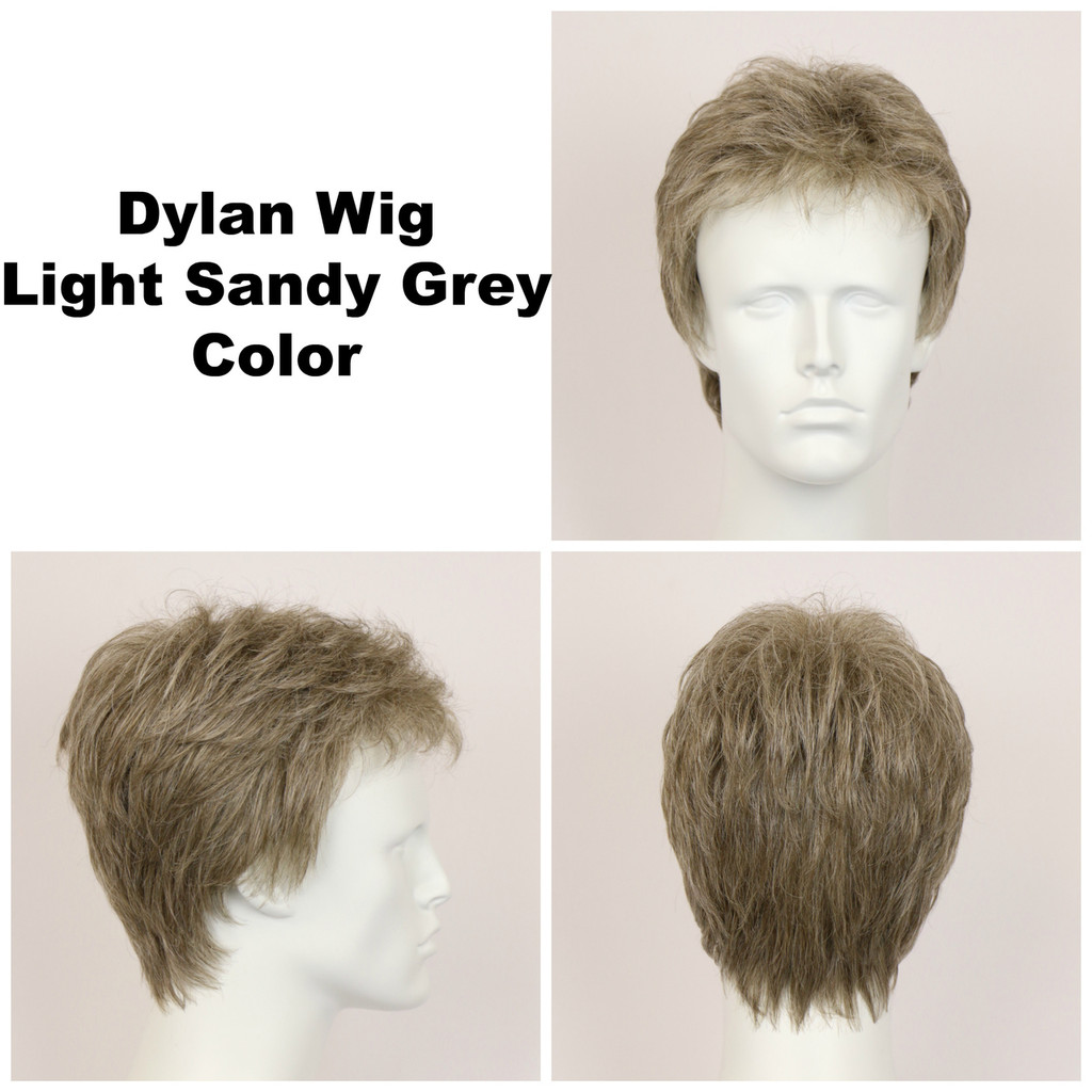Light Sandy Grey / Dylan / Men's Wig