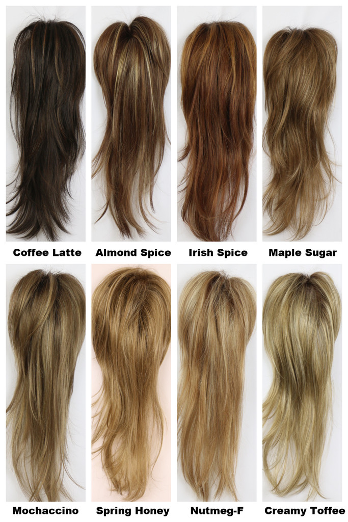 Color Chart / Mono Long Top w/ Roots