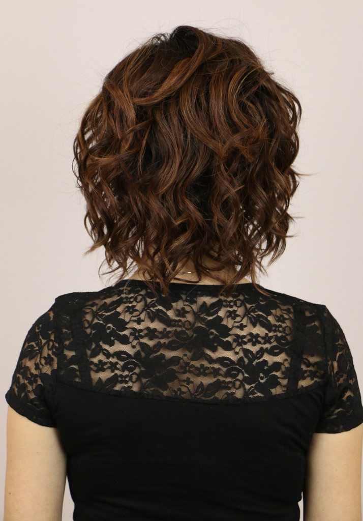 Back of Zara Lace Front Wig