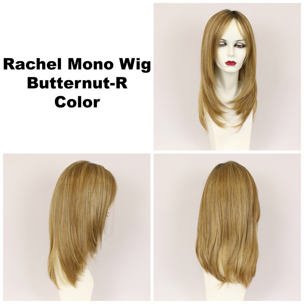 Butternut-R / Rachel Monofilament w/ Roots / Long Wig