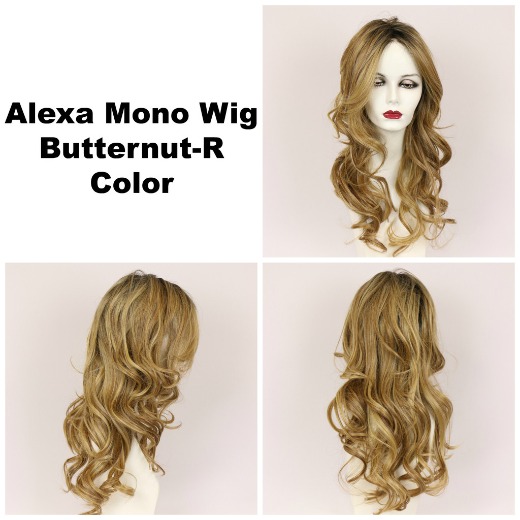 Butternut-R / Alexa Monofilament w/ Roots / Long Wig