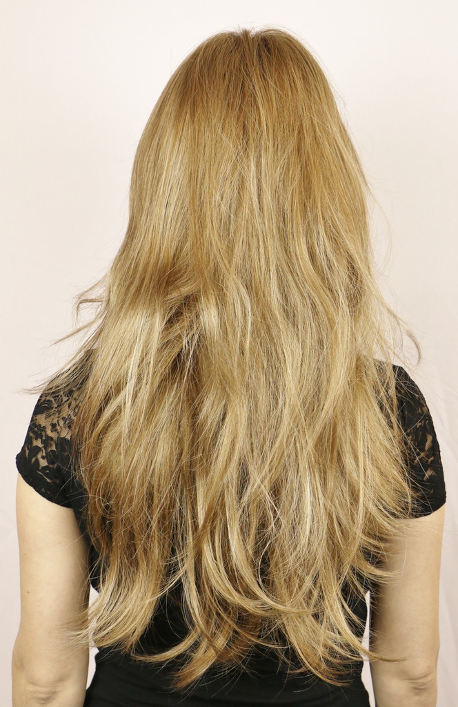 Spring Honey-R / Large Candice w/ Roots / Long Wig
