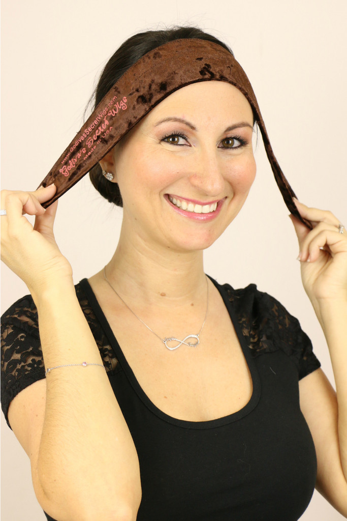 Wig Grip Band (LARGE) - Brown