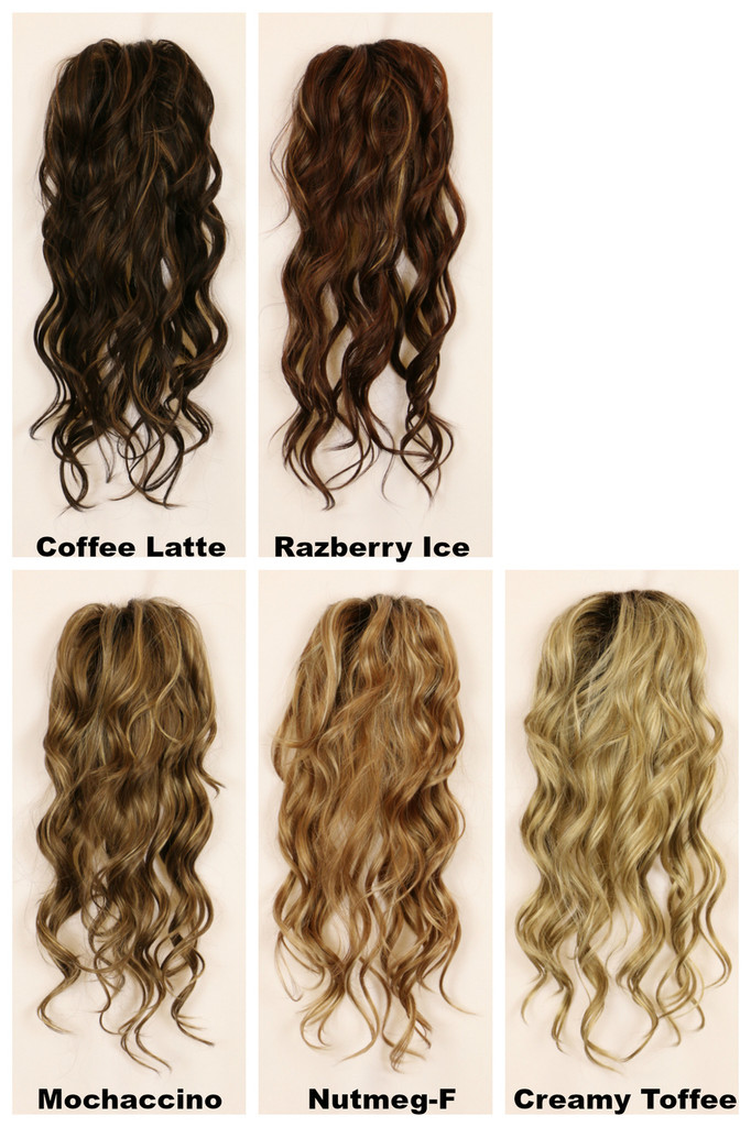 Color Chart / Wavy Top w/ Roots
