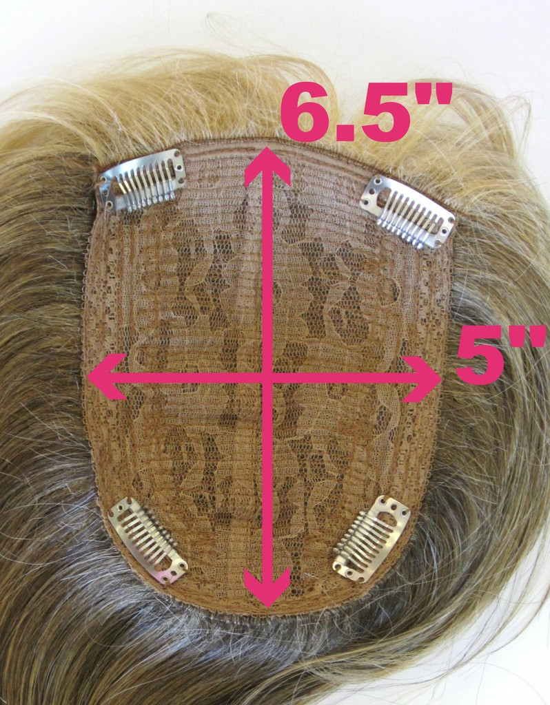 Base measurement (inside view) / Wavy Top w/ Roots