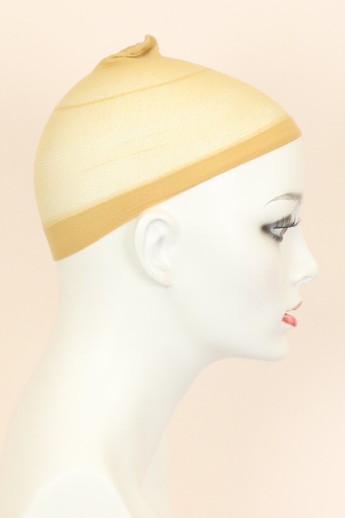 Blond / Nylon / Wig Cap