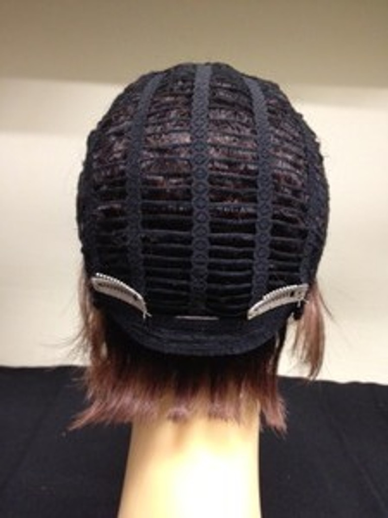 Metal Wig Clip Sewn Into Wig / Back