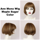 Maple Sugar / Ann Monofilament / Short Wig