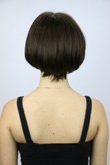 Dark Chocolate / Ann Monofilament / Short Wig