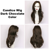 Dark Chocolate / Candice / Long Wig