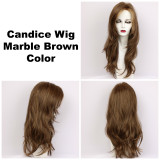Marble Brown / Candice / Long Wig