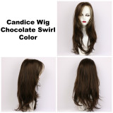 Chocolate Swirl / Candice / Long Wig