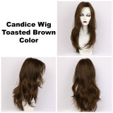 Toasted Brown / Candice / Long Wig