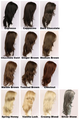 Color Chart / Candice / Long Wig