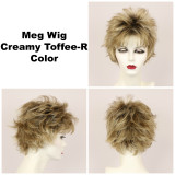 Creamy Toffee-R / Meg w/ Roots / Short Wig