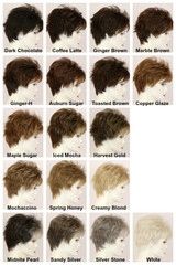 Color Chart / Courtney / Short Wig