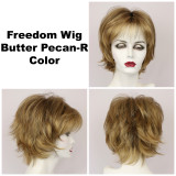 Butter Pecan-R / Freedom w/ Roots / Medium Wig