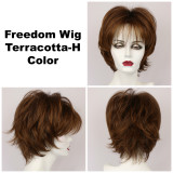 Terracotta-H / Freedom w/ Roots / Medium Wig