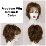Raisin-H / Freedom w/ Roots / Medium Wig