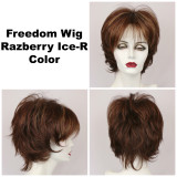 Razberry Ice-R / Freedom w/ Roots / Medium Wig