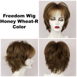 Honey Wheat-R / Freedom w/ Roots / Medium Wig