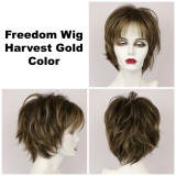 Harvest Gold / Freedom / Medium Wig