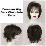 Dark Chocolate / Freedom / Medium Wig